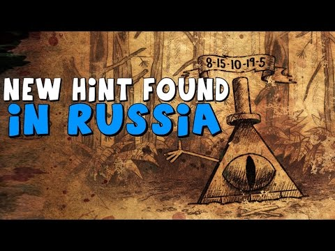Gravity Falls: Mystery of the Bill Cipher Statue - NEW HINT FOUND IN RUSSIA
