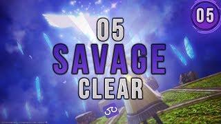 【FFXIV】Sigmascape V1.0 Savage Clear (O5S) ~ Scholar PoV