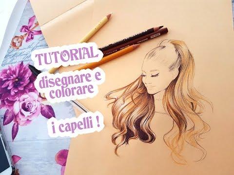 Tutorial Angenioso - disegnare e colorare i capelli