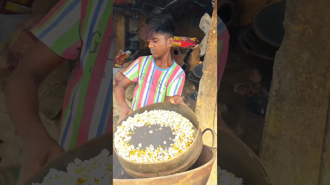 How To Roasted Sweet Corn 🌽 For Sattu #shorts