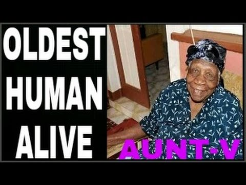"Jamaica's ""Aunt-V"" now the World's Oldest Human. She is Violet Mosse-Brown from Duanvale in Trelawny"