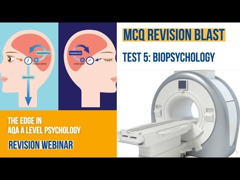 Test 5: AQA A Level Psychology: MCQ Revision Blast: Biopsychology