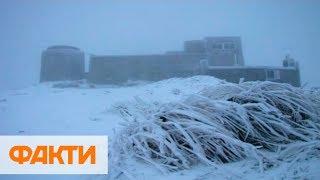 Непогода в Украине: зима в Карпатах, затопленная Одесса и вырванные деревья во Львове