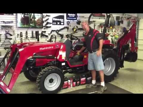 Mahindra 1526 HST Tractor Loader Backhoe Overview