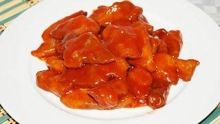 видео Свинина в кисло-сладком соусе