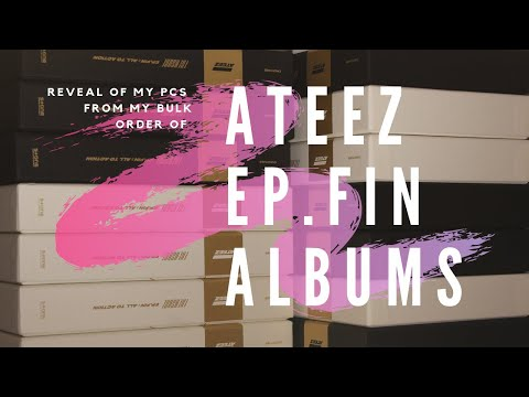 ☆♡ A VERY SPEEDY  unboxing of Ateez Treasure EP. FIN All To Action MMT Albums ☆♡