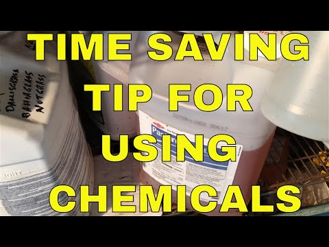 CHEMICAL STORAGE TIPS ~ Label Your Chemicals
