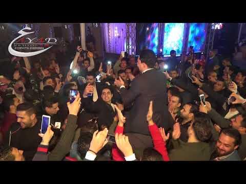 إستقبال سامح المصرى لعبسلام لحظة دخولة فرحة الفنان أحمد التونسى قرية الميريلاند عياد للتصوير والليزر