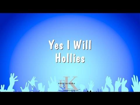 Yes I Will - Hollies (Karaoke Version)