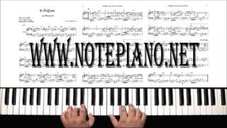โน้ตเปียโนช่างไม่รู้เลย
