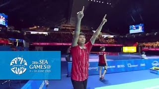 Badminton Mixed Doubles Gold Medal Match | 28th SEA Games Singapore 2015