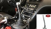 Toyota R 514 remote shifter extension - YouTube