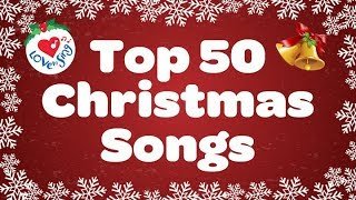 Top 50 Christmas Songs & Carols | Over 2 Hours Beautiful Xmas Music
