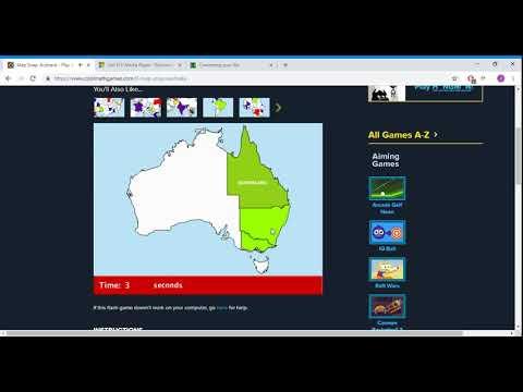 Map Of Australia Youtube.Map Snap Australia 100 Speedrun In 8 Sec Igt