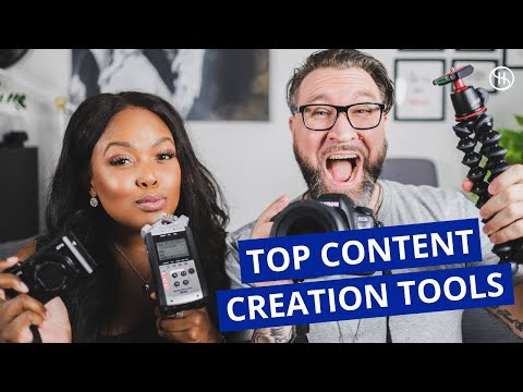 OUR EQUIPMENT FOR YOUTUBE + INSTAGRAM: Content Creation Tools (Camera, Audio, Apps, Software + More)