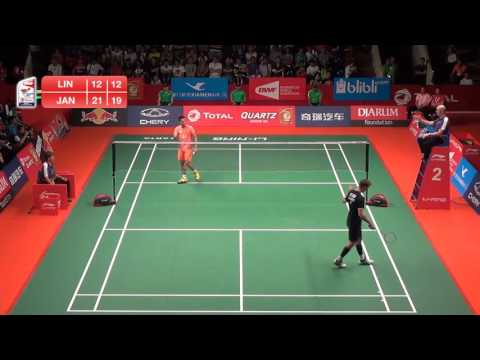 Lin Dan (China) VS Jan O Jorgensen (Denmark)