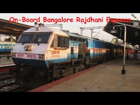 First AC Ride On-Board 22692 Bangalore Rajdhani Express!!!!!!!