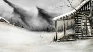 Winter Landscape Speed Drawing