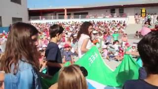 El CEIP Josefina Aldecoa (Torre de Benagalbón) recibe la bandera verde de Ecoescuela.
