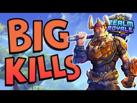 BIG WARRIOR BIG KILLS | Realm Royale Duos