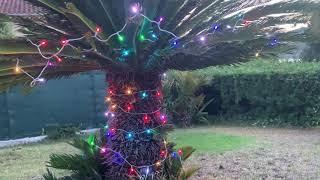 Guirlande lumineuse extérieure 10m 100 LED RGB radio-commande vidéo