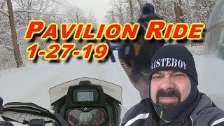 Snowmobiling in Pavilion, NY: 1-27-19