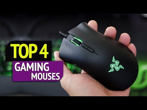 TOP 4: top review gaming mouses 2018