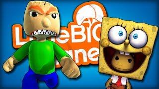 LittleBIGPlanet 3 | BALDI IS AFTER SPONGEBOB
