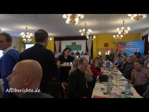 Ausschluss Tobias Wolf SZ Sächsische Zeitung vom Landesparteitag AfD Sachsen