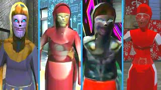 All Evil Nun Mods | Thanos Nun Vs Iron Man Nun Vs Thor Nun Vs Santa Nun
