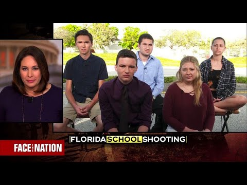 Students push for a #neveragain national gun control movement