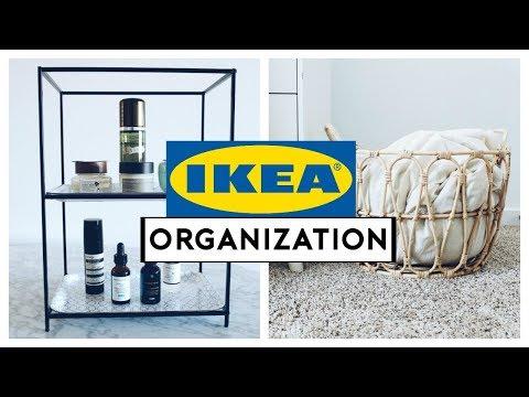 IKEA HOME ORGANIZATION IDEAS + HACKS 2019!