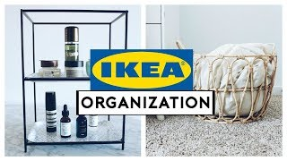 IKEA HOME ORGANIZATION IDEAS + HACKS 2019!