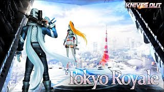 *NEW MAP UPDATE* KNIVES OUT TOKYO ROYALE GAMEPLAY (Android) HD
