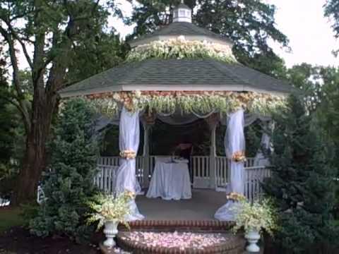 Wedding Day Gazebo and Aisle  YouTube