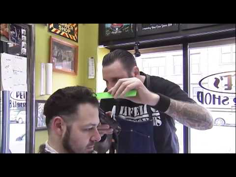 JON ON THE JOB PETE'S BARBER SHOP CHICAGO