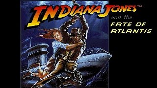 Indiana Jones and the Fate of Atlantis (PC/DOS) The Action Game! 1991, Lucasarts
