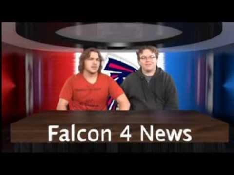 CLHS NewsCast Anchorman Tyler Rooney & Aaron/ Improv Looper commercial 2012