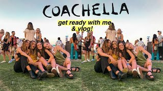 Coachella GRWM! & Vlog with Youtubers!! (Days 2&3) | Summer Mckeen