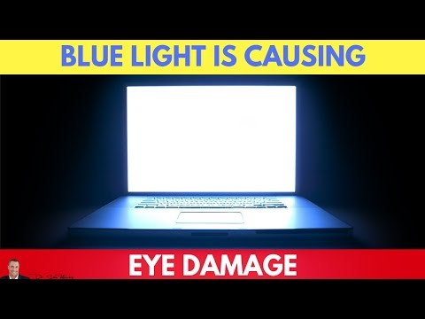 👁️👁️Blue Light From Your Phone Is Causing Permanent Eye Damage