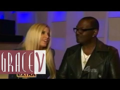 Randy Jackson & Grave on EXTRA TV