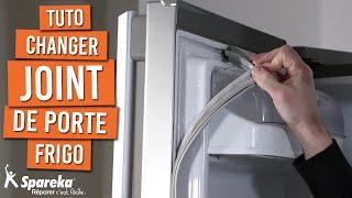 Comment changer le joint de porte de votre frigo