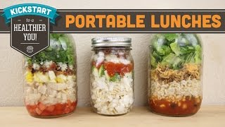 Portable Lunches In A Jar - Mind Over Munch Kickstart Series