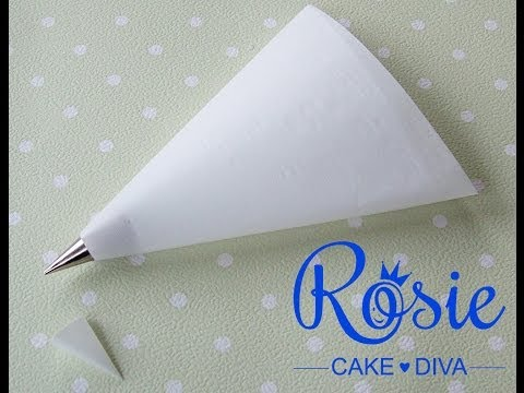 Make Your Own Piping Bags thumbnail
