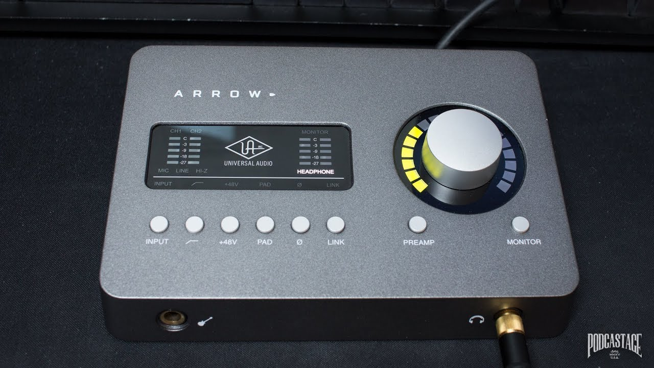 Universal Audio Arrow Interface Review / Test / Explained - YouTube