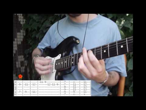 Snow (Hey oh) - Red hot chili peppers - Guitarra cover por Augusto + tab