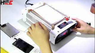 Mobile phone LCD Touch Screen Scratch Repair Machine - LCD Glass Separator -Huatalehon automatic