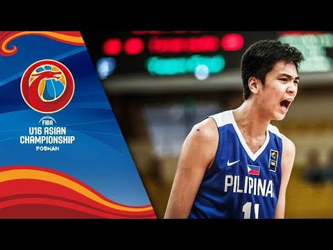 Kai Sotto's Game Highlights vs Japan (VIDEO) 28pts, 21rebs | FIBA Asia U16 Quarterfinals