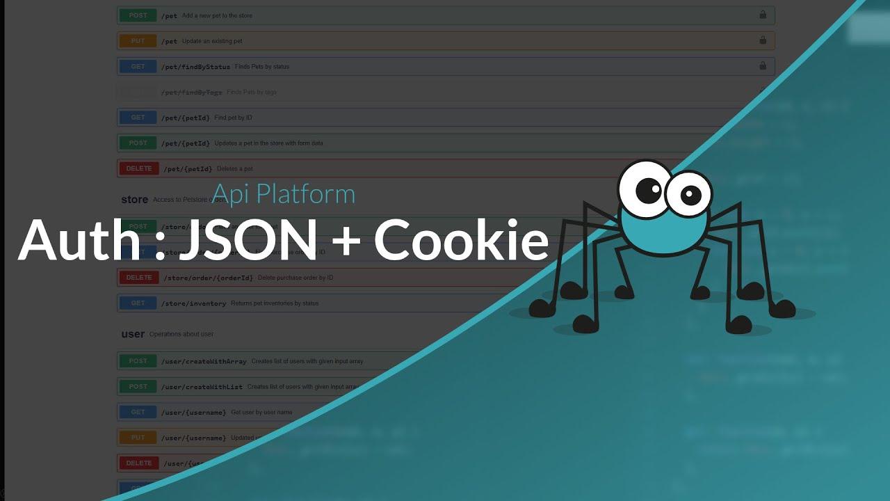 Découverte d'API Platform : Authentification JSON