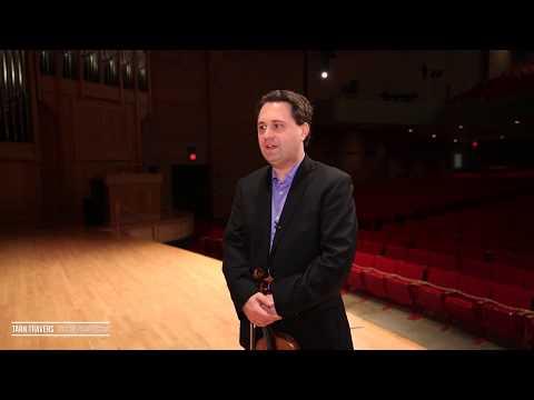DePauw School of Music Bios – Tarn Travers, Violin